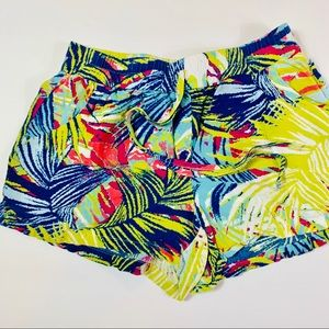 Bebop summer beach print shorts